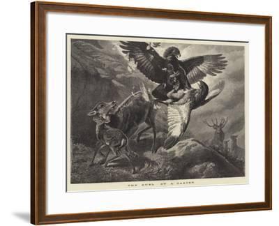 The Duel--Framed Giclee Print