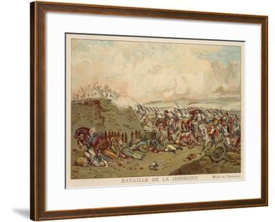 Battle of Borodino, Russia, 1812--Framed Giclee Print