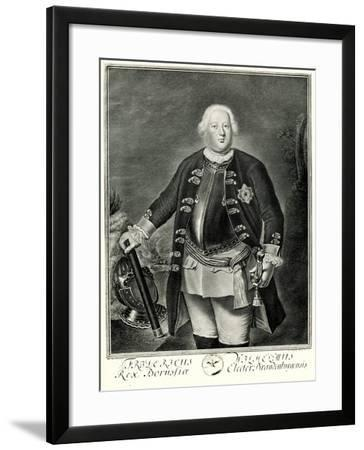 Friedrich Wilhelm I., 1884-90--Framed Giclee Print