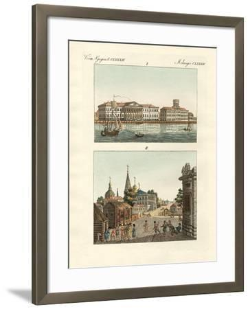 Strange Objects of Russia--Framed Giclee Print