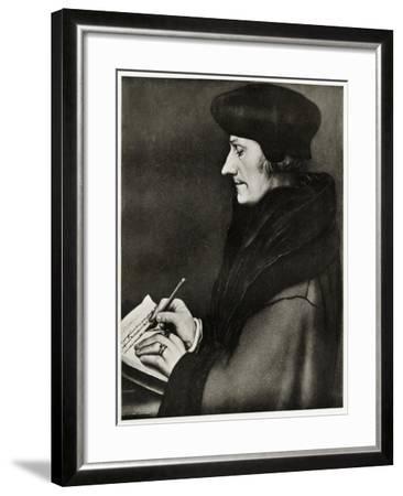Desiderius Erasmus Von Rotterdam, 1884-90--Framed Giclee Print