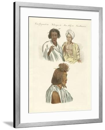Inhabitants of Both Coasts of the Red Sea--Framed Giclee Print