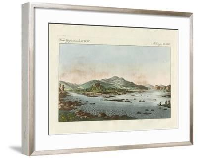 The Vortices of the Danube in Low Austria--Framed Giclee Print