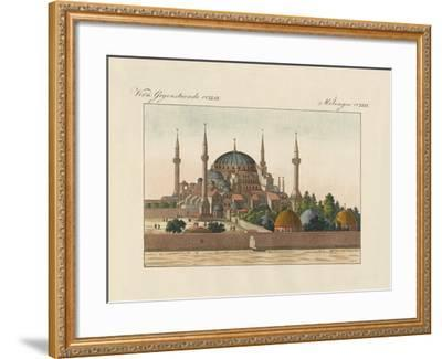 Saint-Sophia Cathedral in Constantinople--Framed Giclee Print