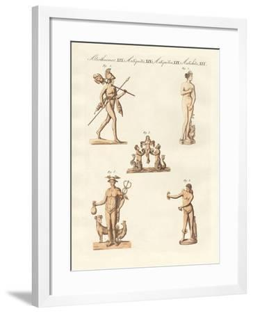 Divinities of the Greeks and Romans--Framed Giclee Print