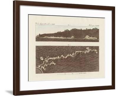 The Large Cave of Baradla Near Aggtelek in Hungary--Framed Giclee Print