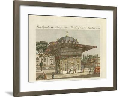 The Fountain Top-Hané of Constantinople--Framed Giclee Print