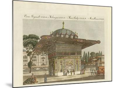 The Fountain Top-Hané of Constantinople--Mounted Giclee Print