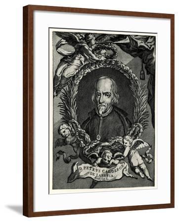 Don Pedro Calderón De La Barca Barreda, 1884-90--Framed Giclee Print