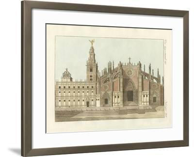 The Cathedral or Metropolitan Church of Seville--Framed Giclee Print