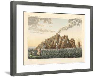 The Volcanic Island of Holy John the Theologian--Framed Giclee Print