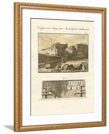The Subterraneous Town of Herculaneum--Framed Giclee Print