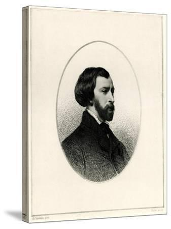 Alfred De Musset, 1884-90--Stretched Canvas Print