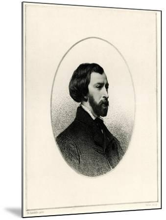 Alfred De Musset, 1884-90--Mounted Giclee Print