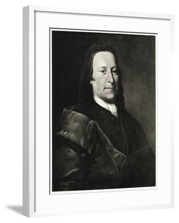 Nikolaus Ludwig Graf Von Zinzendorf, 1884-90--Framed Giclee Print