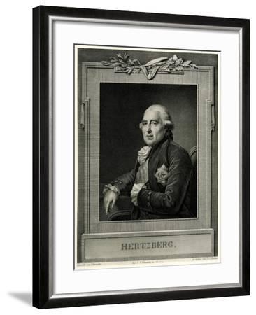 Ewald Friedrich Graf Von Hertzberg, 1884-90--Framed Giclee Print
