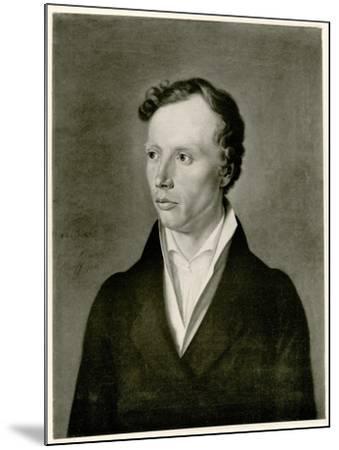 Ludwig Uhland, 1884-90--Mounted Giclee Print