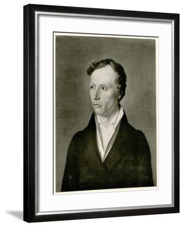 Ludwig Uhland, 1884-90--Framed Giclee Print