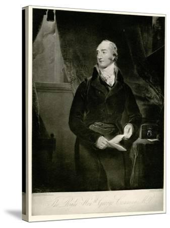 George Canning, 1884-90--Stretched Canvas Print
