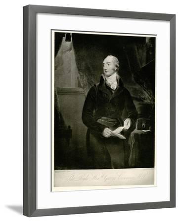 George Canning, 1884-90--Framed Giclee Print