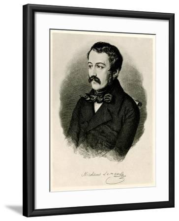 Nikolaus Lenau, 1884-90--Framed Giclee Print