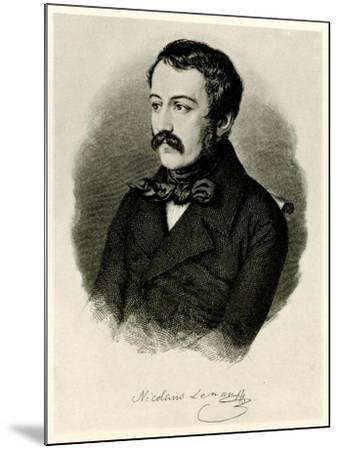 Nikolaus Lenau, 1884-90--Mounted Giclee Print