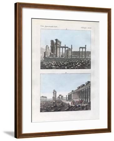 Ruins of Palmyra--Framed Giclee Print