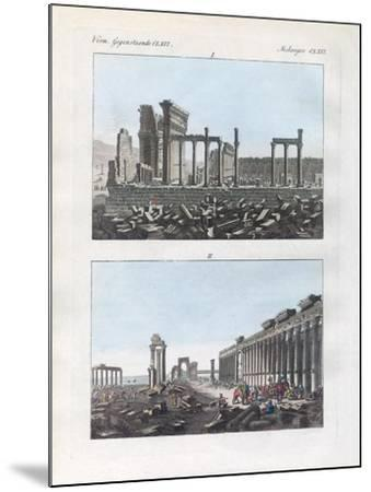 Ruins of Palmyra--Mounted Giclee Print