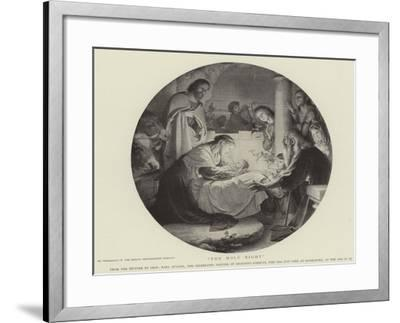 The Holy Night--Framed Giclee Print