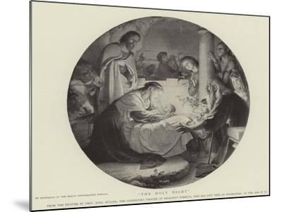 The Holy Night--Mounted Giclee Print