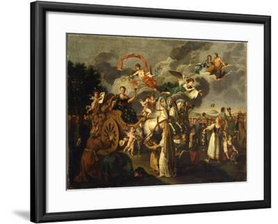 Catherine II Journeying across Russia, 1787--Framed Giclee Print