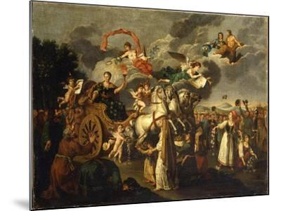 Catherine II Journeying across Russia, 1787--Mounted Giclee Print
