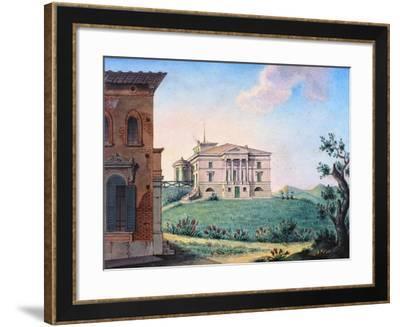 Belpoggio, Villa Baciocchi, Bologna--Framed Giclee Print