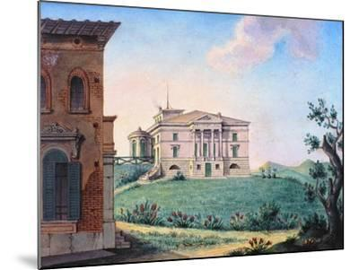 Belpoggio, Villa Baciocchi, Bologna--Mounted Giclee Print