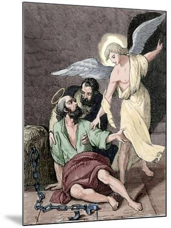 Saint Marcelino and Saint Peter, Martyrs, Rome, 304 Ad--Mounted Giclee Print