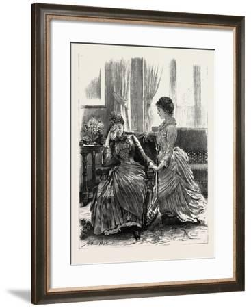 The Grand Military Mass, at the Camp at Honvault, Near Boulogne, 1854--Framed Giclee Print