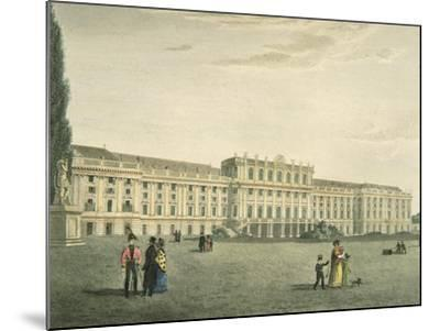 Austria, Vienna, Schonbrunn Castle, Habsburg Imperial Residence--Mounted Giclee Print