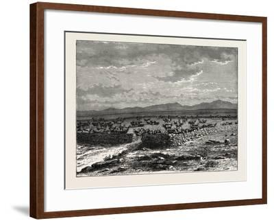 A South African Cattle Kraal. South Africa--Framed Giclee Print