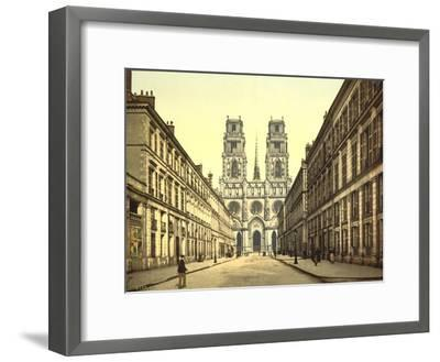 Joan of Arc Street, Orléans, France, C.1890-C.1900--Framed Giclee Print