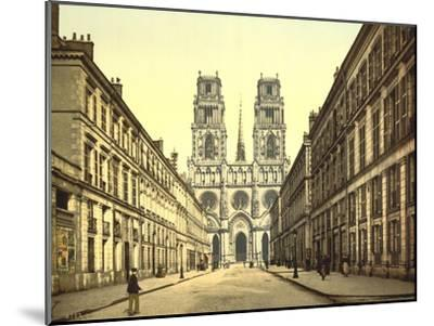 Joan of Arc Street, Orléans, France, C.1890-C.1900--Mounted Giclee Print