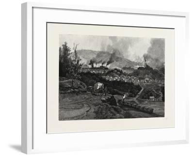Nova Scotia, Acadia Mines, Canada, Nineteenth Century--Framed Giclee Print