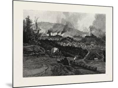 Nova Scotia, Acadia Mines, Canada, Nineteenth Century--Mounted Giclee Print