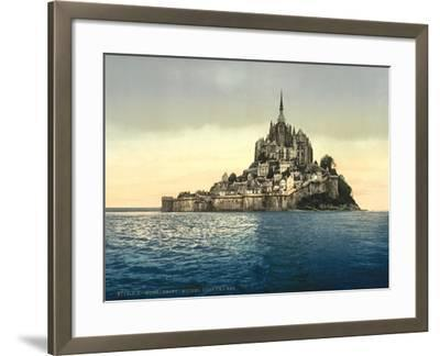 East Coast at High Water, Le Mont St. Michel, France--Framed Giclee Print