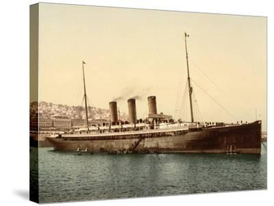 Steamship Normannia, Algeria, C.1899--Stretched Canvas Print