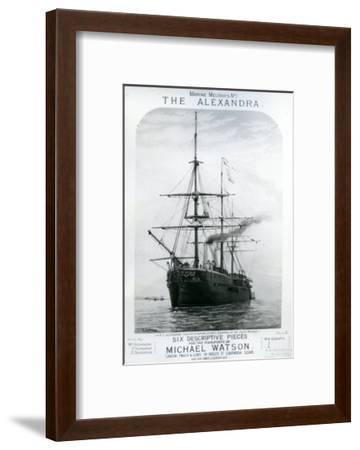 The Alexandra--Framed Giclee Print