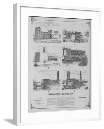 Metallurgy - Quicksilver--Framed Giclee Print