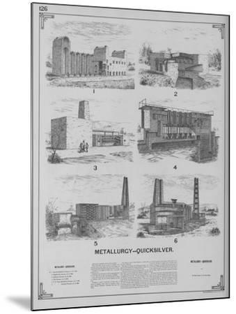 Metallurgy - Quicksilver--Mounted Giclee Print