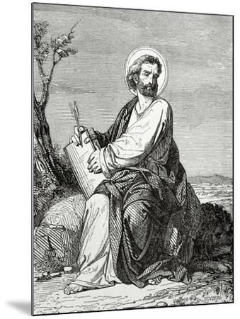 Mark the Evangelist--Mounted Giclee Print