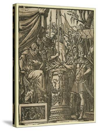Mutius Scaevola, Between 1584 and 1610--Stretched Canvas Print