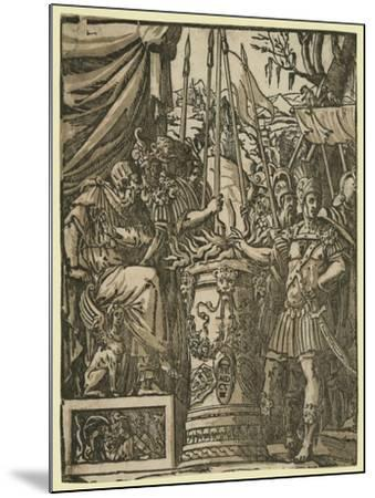 Mutius Scaevola, Between 1584 and 1610--Mounted Giclee Print
